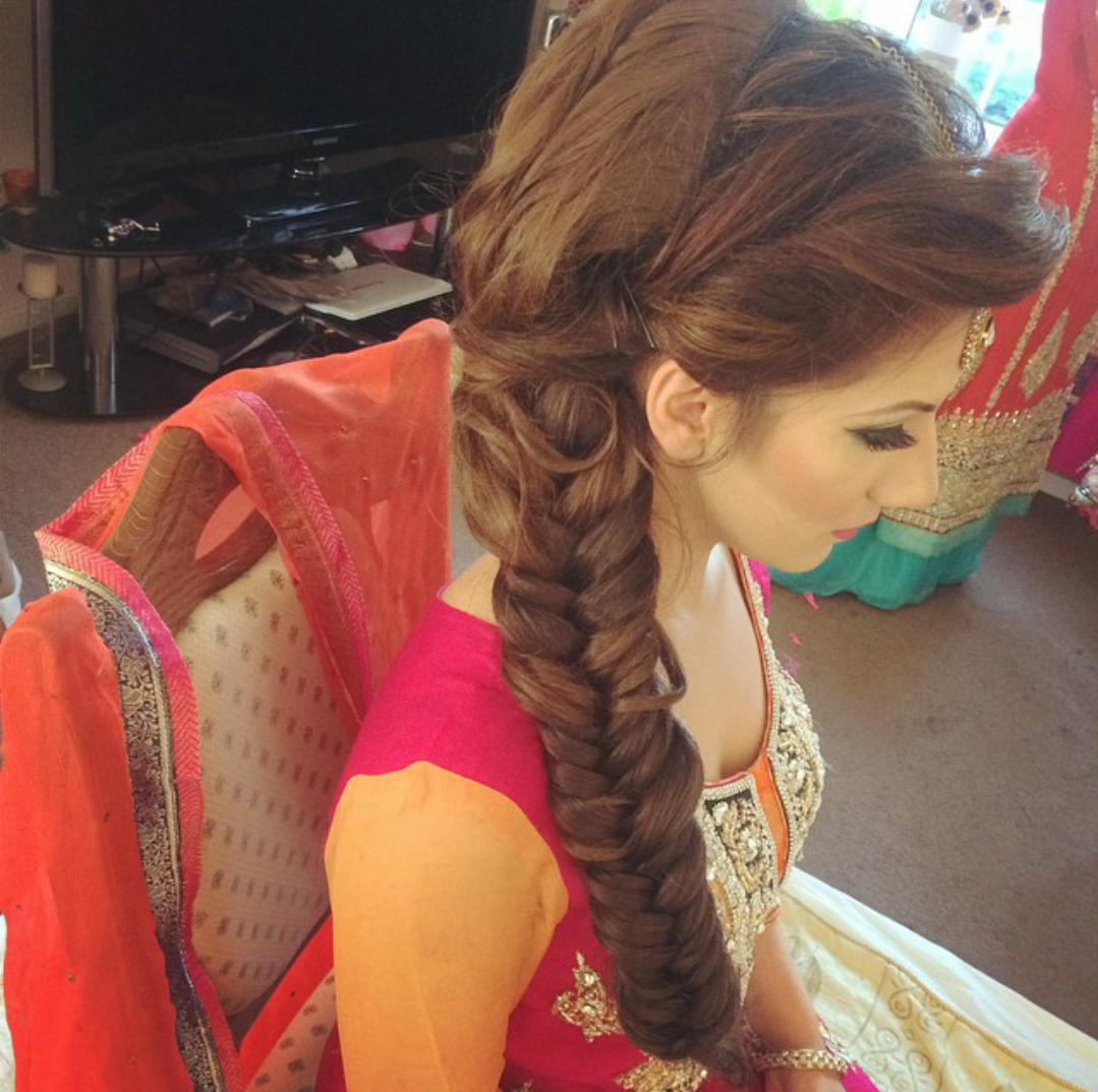 Mehndi For Thick Hair : Big thick braid plait brides of india pinterest