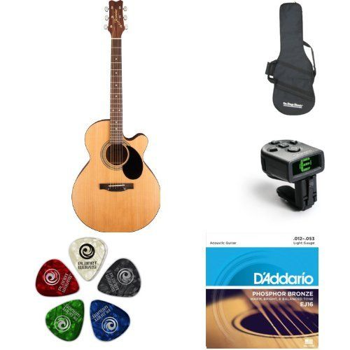 Jasmine S34c Nex Acoustic Guitar Bundle Http Www Instrumentssale Com Jasmine S34c Nex Acoustic Guitar Bundle Guitar Acoustic Guitar Acoustic