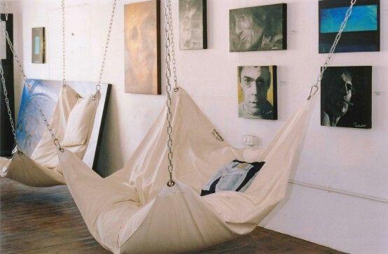 Love Hanging Chairs Condo Home Decor Indoor Hammock