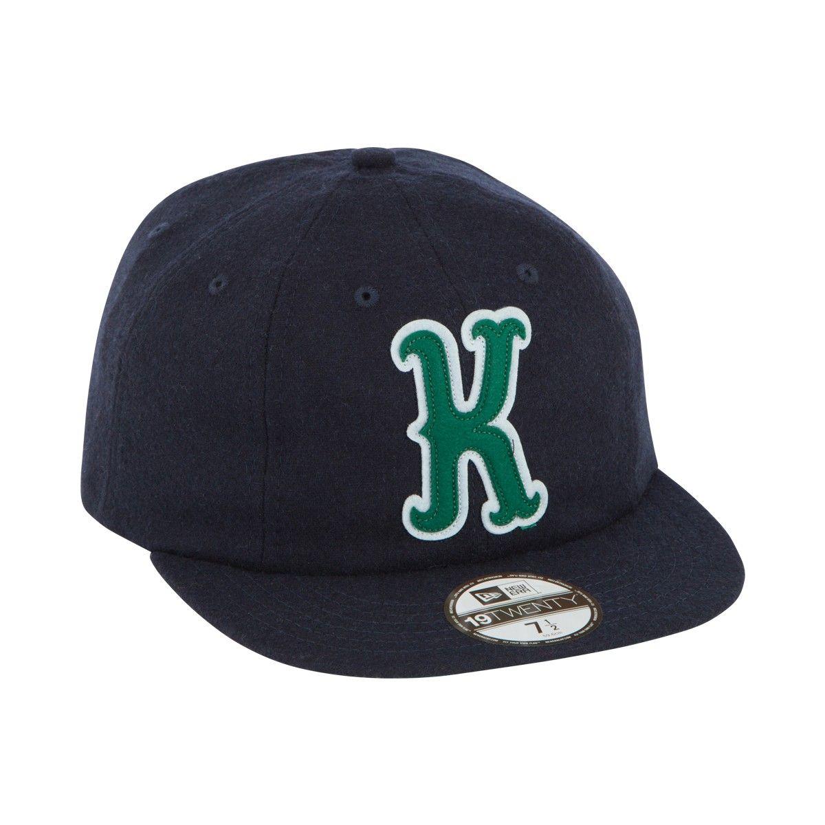 Maison Kitsune PARISIEN 8 PANEL CAP - NEW ERA Fitted Baseball Caps fecef1ba4f8e