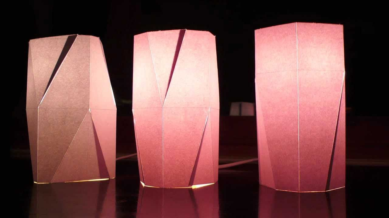 Craft paper lamp shades - Learn How To Make Functional Lampshades By Casting Resin At Home More Info Http