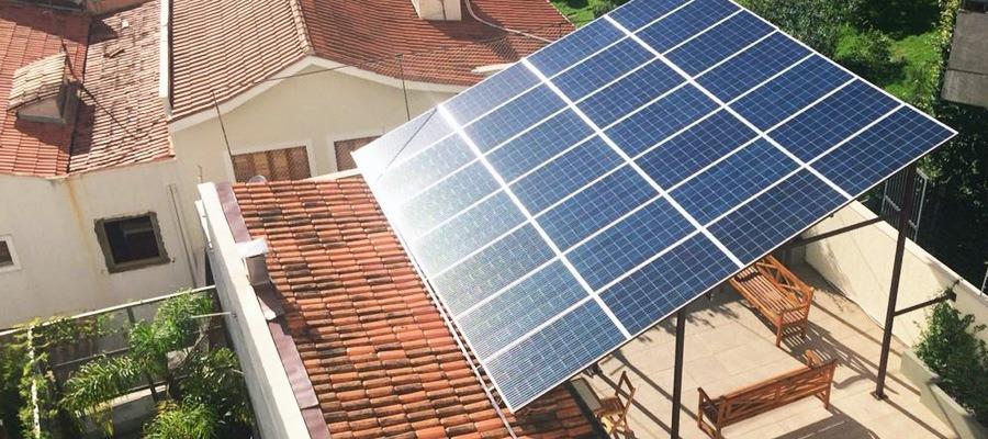 Energia Fotovoltaica Como Funciona A Energia Fotovoltaica Em Condominios Energia Fotovoltaica Fotovoltaica Geracao De Energia Solar
