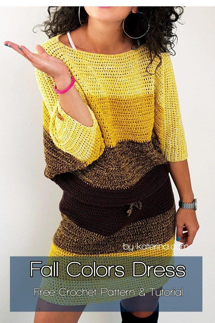 Fall Colors Dress - ByKaterina Fall Colors Dress #fallcolors