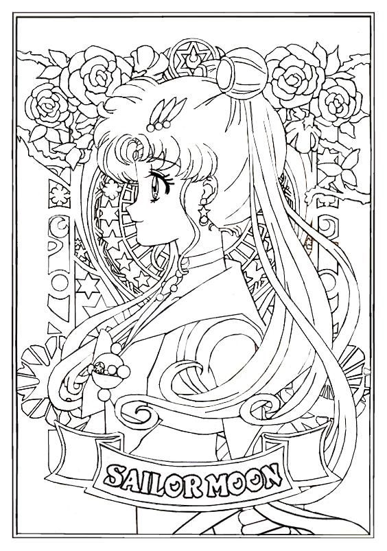 SMC Portraits - SAILOR MOON (the first of series!) by MissLily1990 on DeviantArt