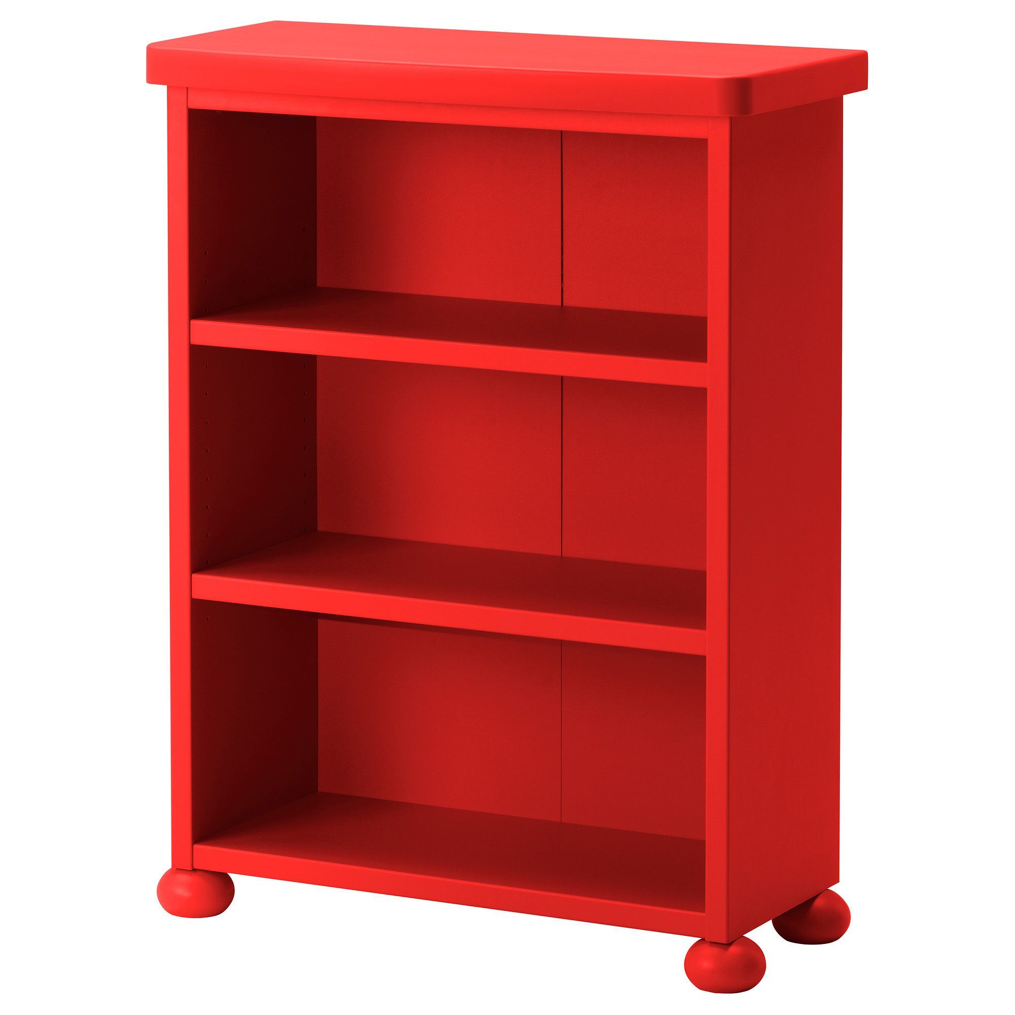 Mammut Shelf Unit Red Ikea