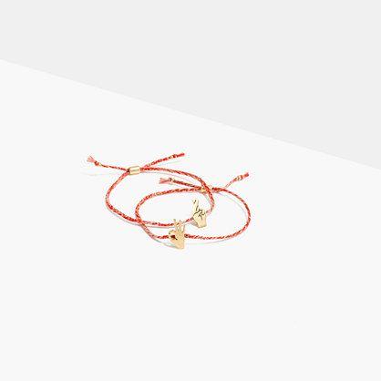 409a2b5329e4e Two-Pack Friendship Bracelets | inventory | Bracelets, Jewelry ...