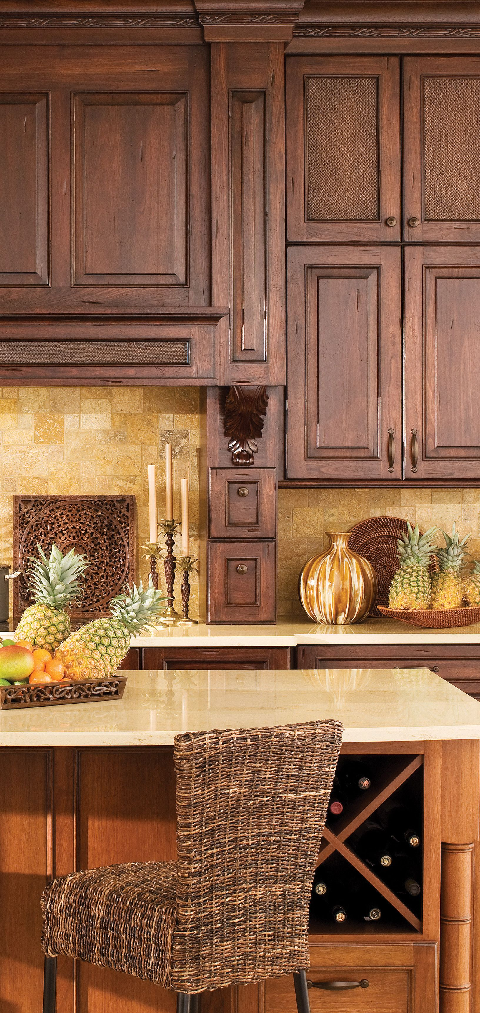 Tropical Kitchen Ideas: West Indies Style Is A Traditional And Tropical Interior