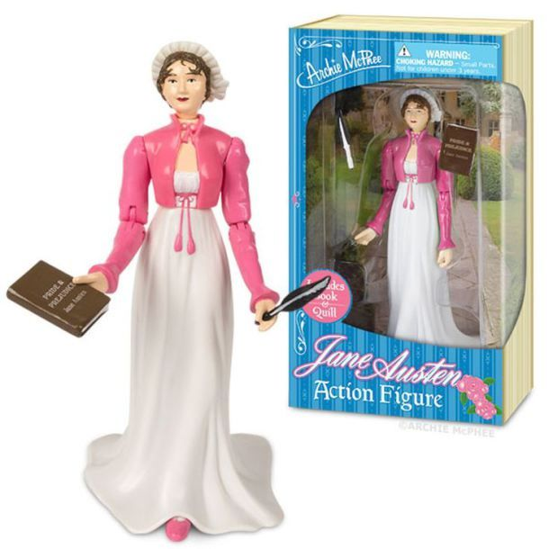 Christmas Gifts for Writers - Jane Austen Action Figure
