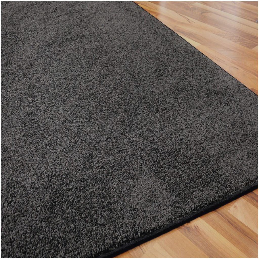 Prima Hochflor Teppich Grau Meterware Hochflor Teppich Grau