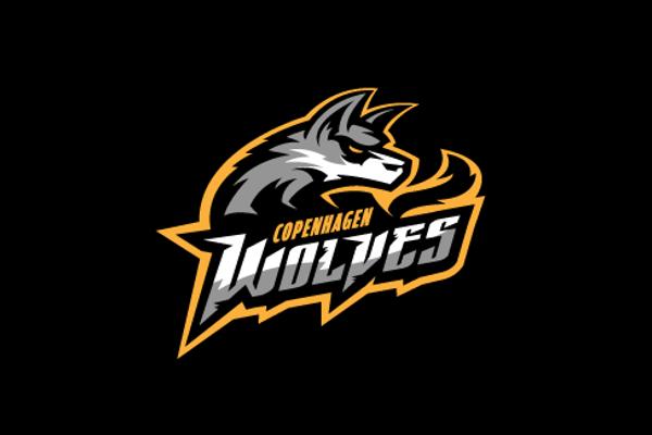 wolf logo design for sports team design logo pinterest logos