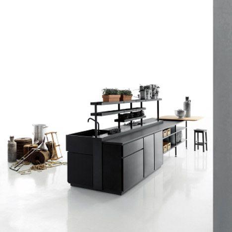 patricia urquiola's salinas kitchen for boffi | patricia urquiola, Innenarchitektur ideen