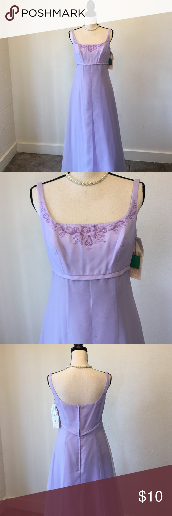 Vintage mori lee lavender formal dress mori lee mori lee dresses
