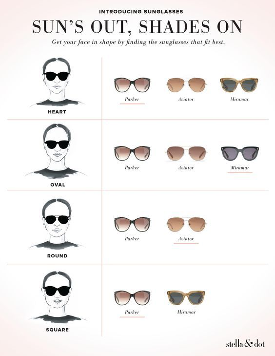 9f6d5a45630 How to choose sunglasses to suit your face. Find the perfect sunnies  www.stelladot.co.uk moakes
