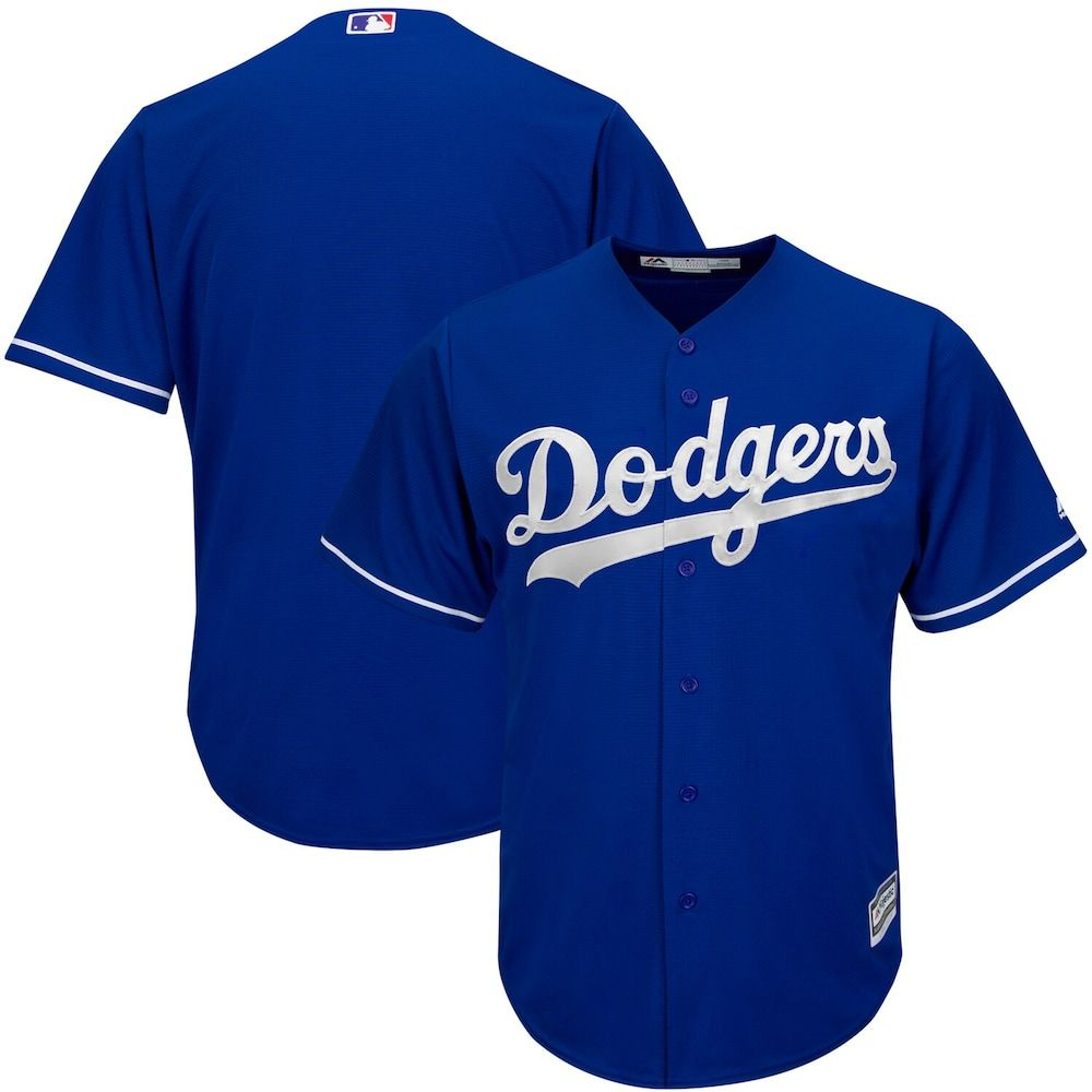 Men S Majestic Royal Los Angeles Dodgers Fashion Big Tall Cool Base Team Jersey Size 5xb Blue Dodgers Los Angeles Dodgers Big Men Fashion