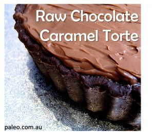 Paleo Diet Recipe Primal Raw Chocolate Caramel Torte
