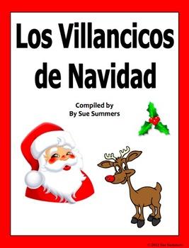 spanish christmas carols villancicos de navidad song book