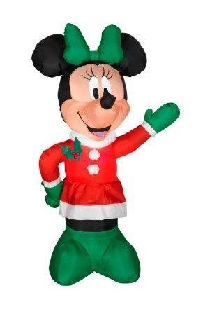Bellagio Throw Pillow Disney, Minnie mouse a Záhradné umenie - disney christmas yard decorations