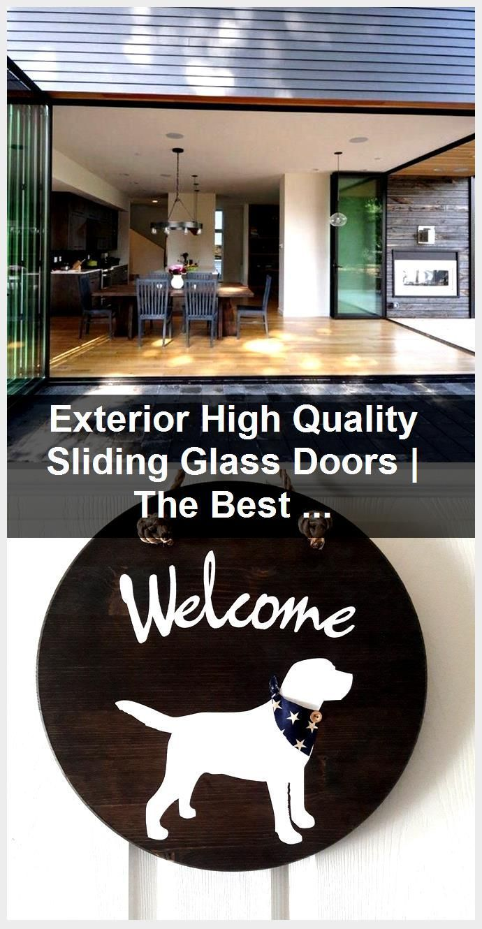 Photo of Exterior High Quality Sliding Glass Doors | The Best Wood Furniture, door, doors…,  #door #…