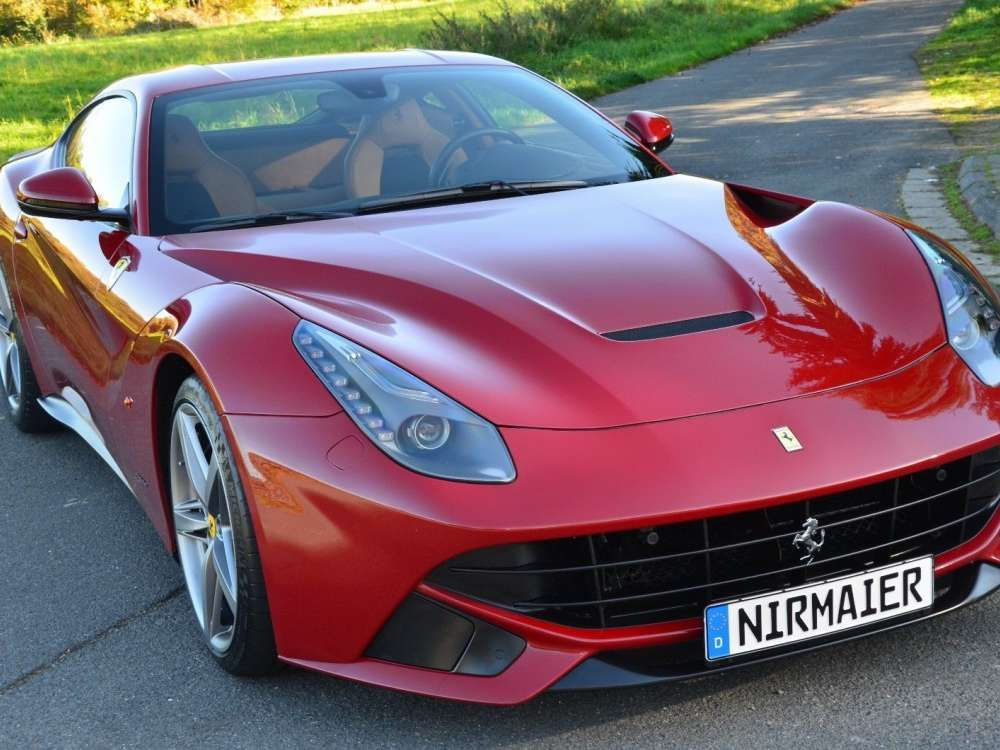 2013 Ferrari F12 Berlinetta Coupe 1 Owner Lift Top Condition Tags