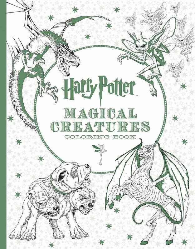 This Stunning Harry Potter Coloring Book Exists And Youll