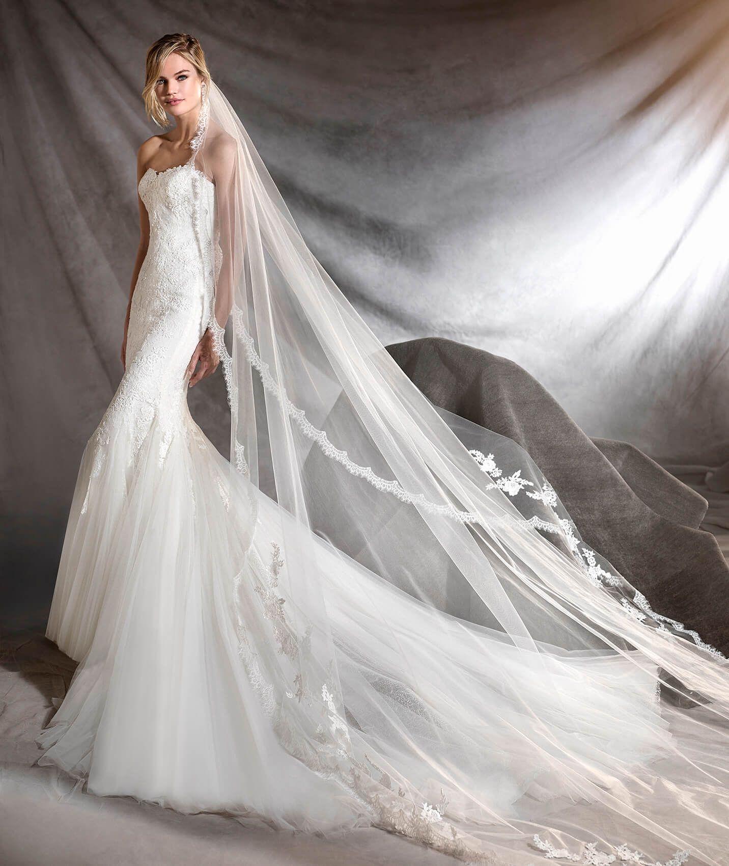f0492c7870 OSANA - Abito da sposa a vita bassa in tulle