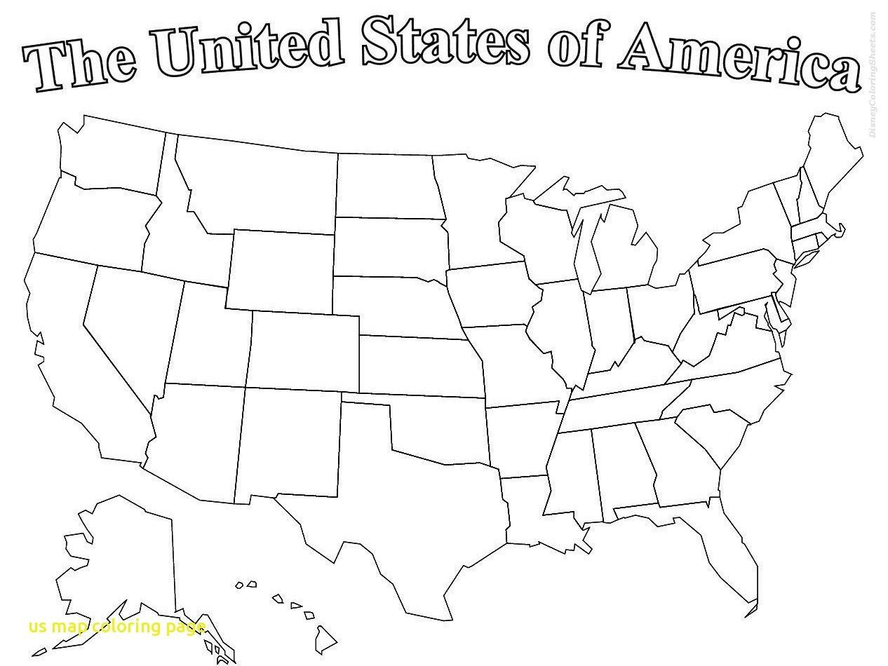 Us Map Coloring Cool Stock Printable Map The United States Color