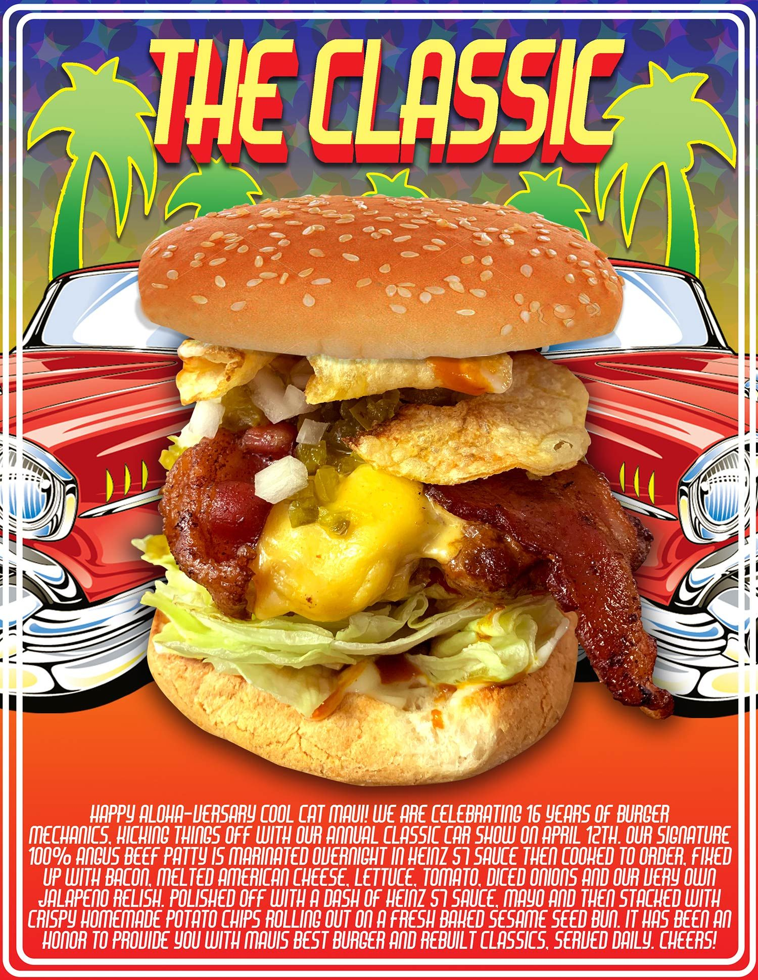 to the Cool Cat Cafe Home of the Best Burger on