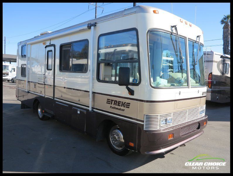 Buy It Now 1997 Safari Trek Pathmaker 27 Bunk House Rv Motorhome Low Miles Motorhome Bunk House Luxury Rv
