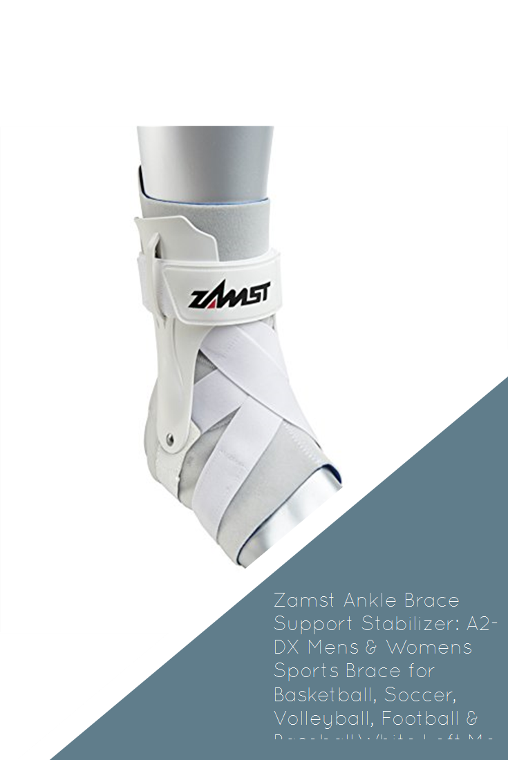Zamst Ankle Brace Support Stabilizer A2 Dx Mens Womens Sports Brace For Basketball Soccer Volleyball Football B Sports Braces Sports Women Ankle Braces