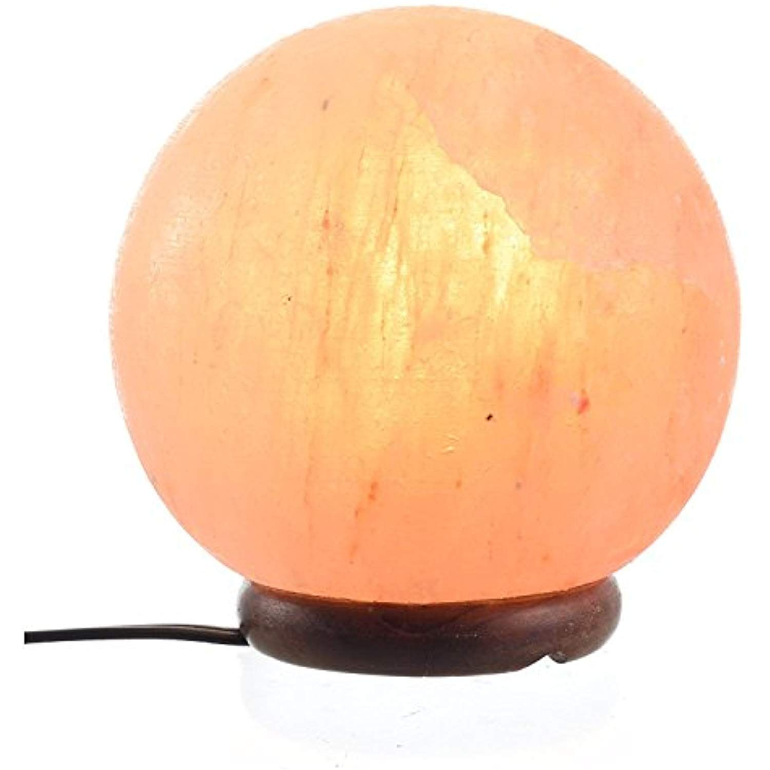 Shartpro Ball Natural Himalayan Salt Lamp Handcrafted From Himalayan Rock Salt Crystals Beautiful Natural Himalayan Salt Lamp Salt Lamp Himalayan Salt Lamp