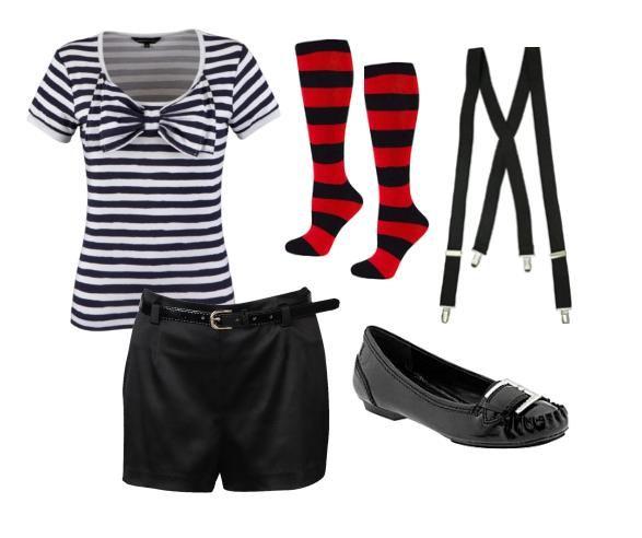 Alice In Wonderland Inspired Fashion Com Imagens Looks Look