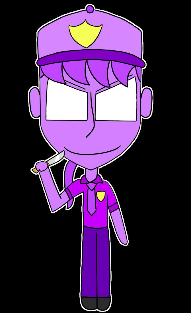 Chibi Purple Guy By Https Www Deviantart Com Polarbearshygirl On Deviantart Purple Guy Chibi Purple