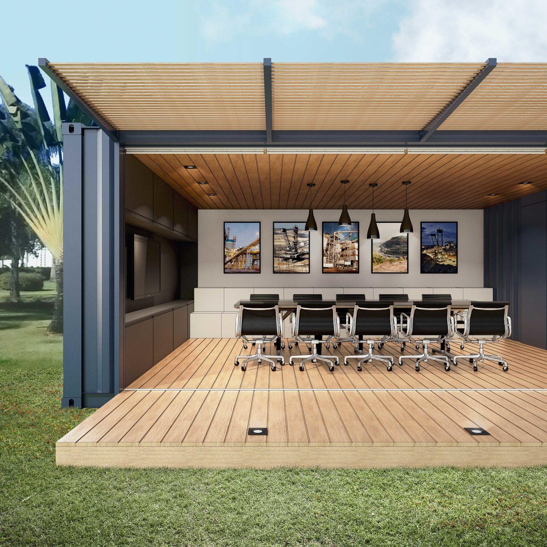 Container Votorantim Bernardo Horta Arquiteto
