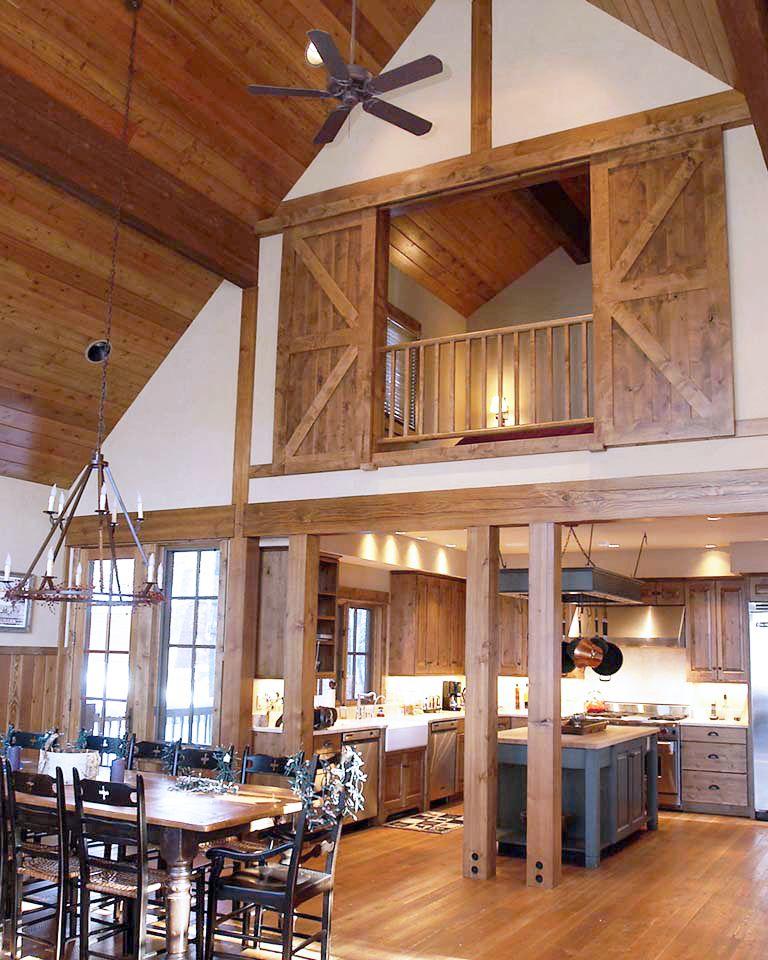 trouvailles pinterest grange transform e les id es de ma maison photo rockymountainloghomes. Black Bedroom Furniture Sets. Home Design Ideas