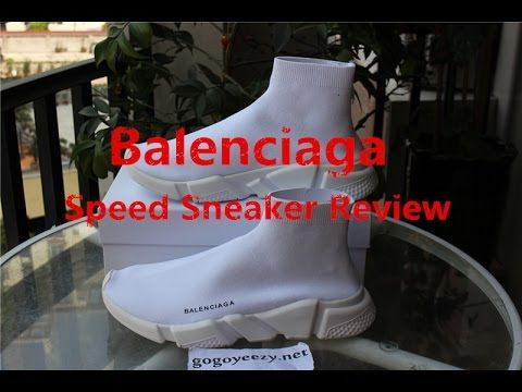 Unboxing Balenciaga Speed Trainer Sock