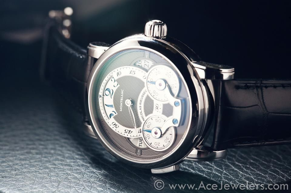 The Montblanc Nicolas Rieussec Rising Hours Chronograph