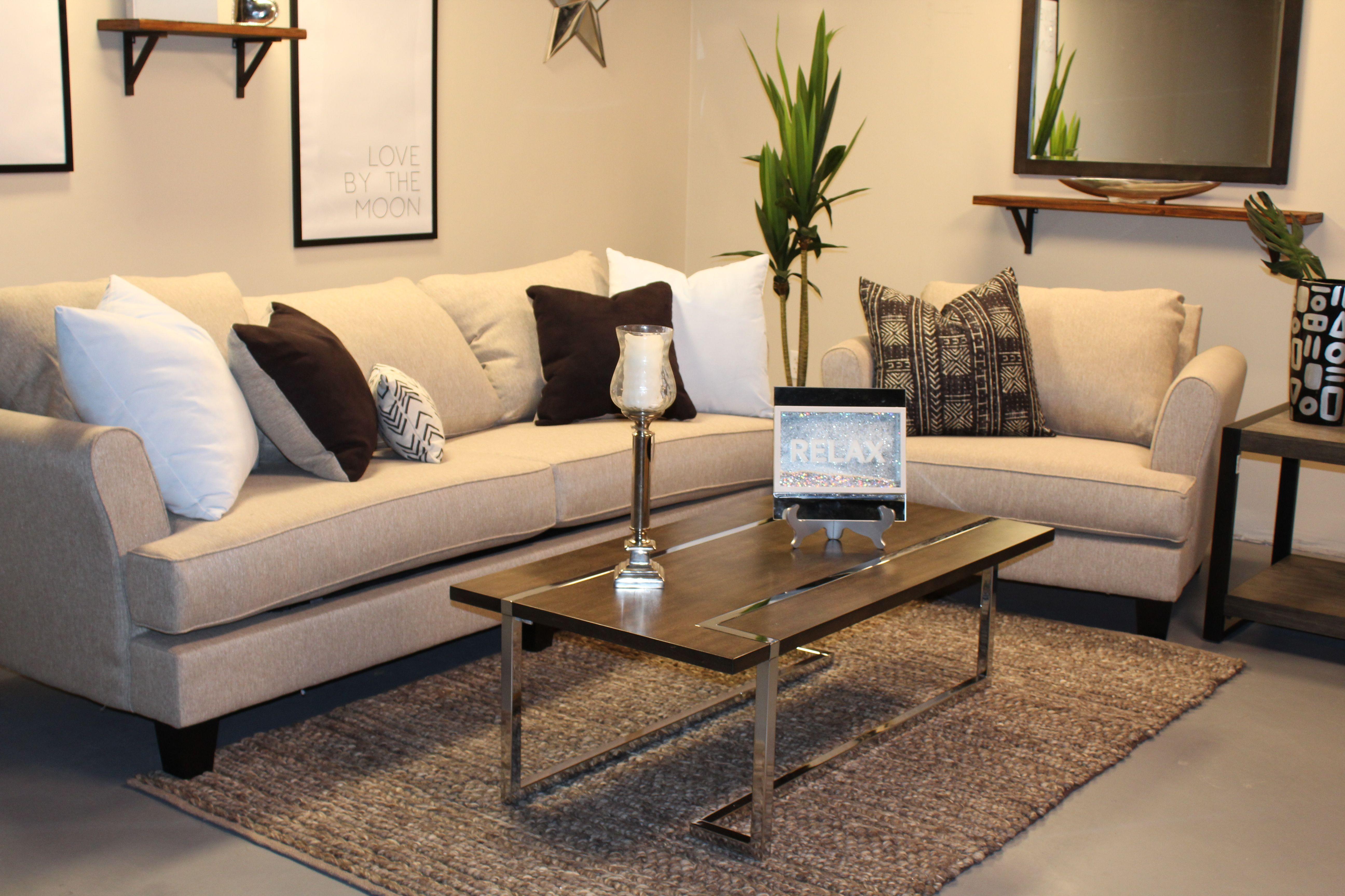 In Whittany S Living Room Design She Used The Rachel Omega Sofa