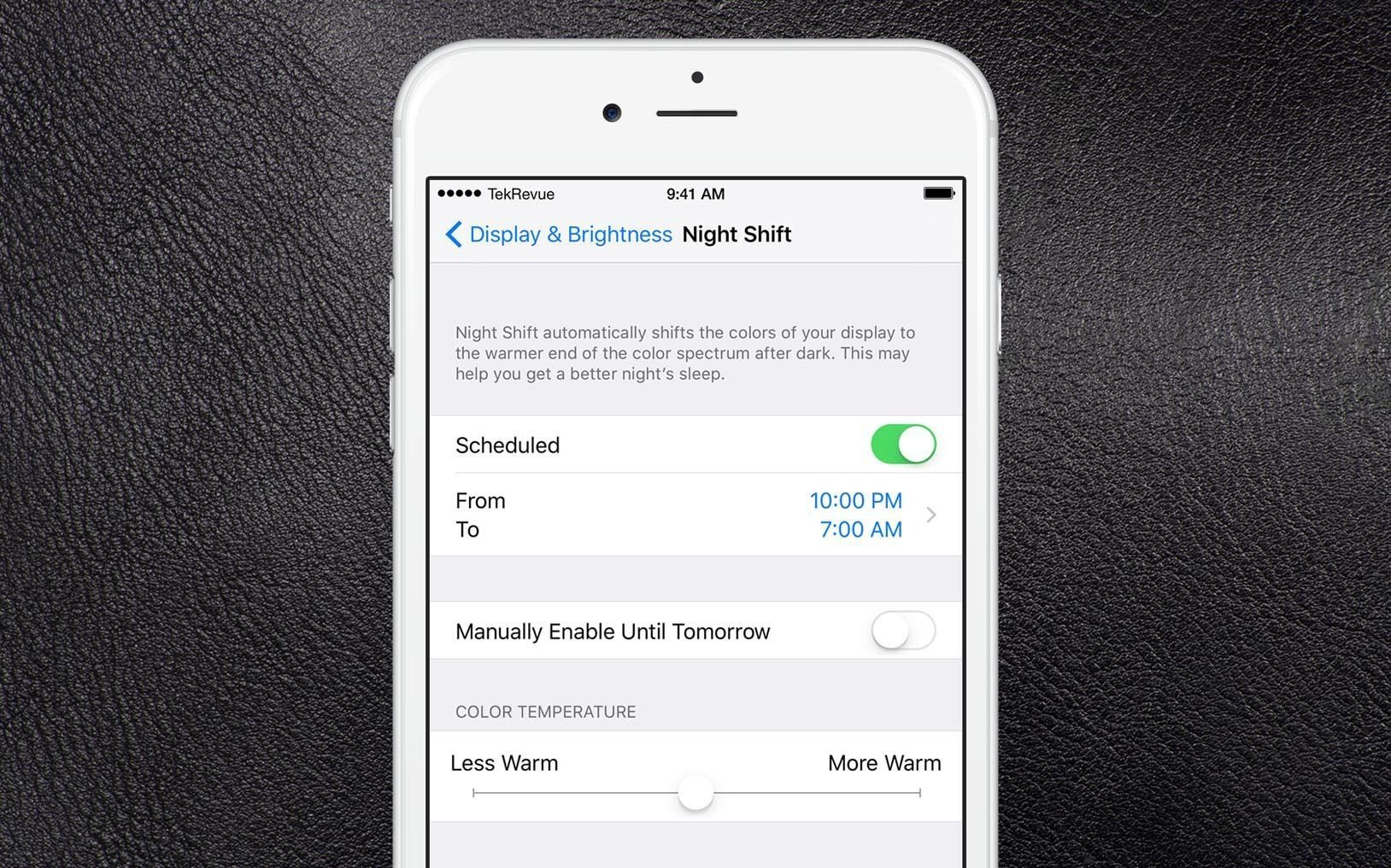 Tutorial to Use Night Shift on your iPhone or iPad Ipad