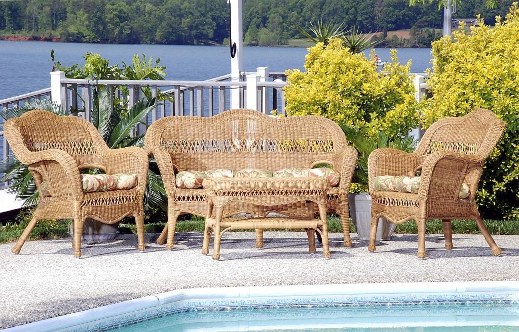 brainy outdoor wicker couch perfect
