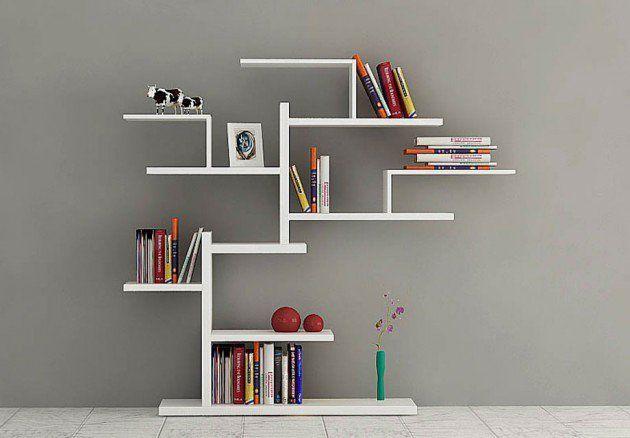 15 Fabulous Minimalist Shelves For Your Living Room In Modern Style Minimalist Bookshelves Minimalist Shelves Bookshelf Design Bedroom modern bookshelf design