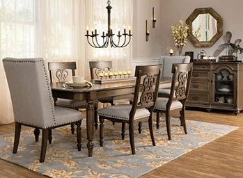Kasari 7 Pc Dining Set Dining Sets Raymour And Flanigan