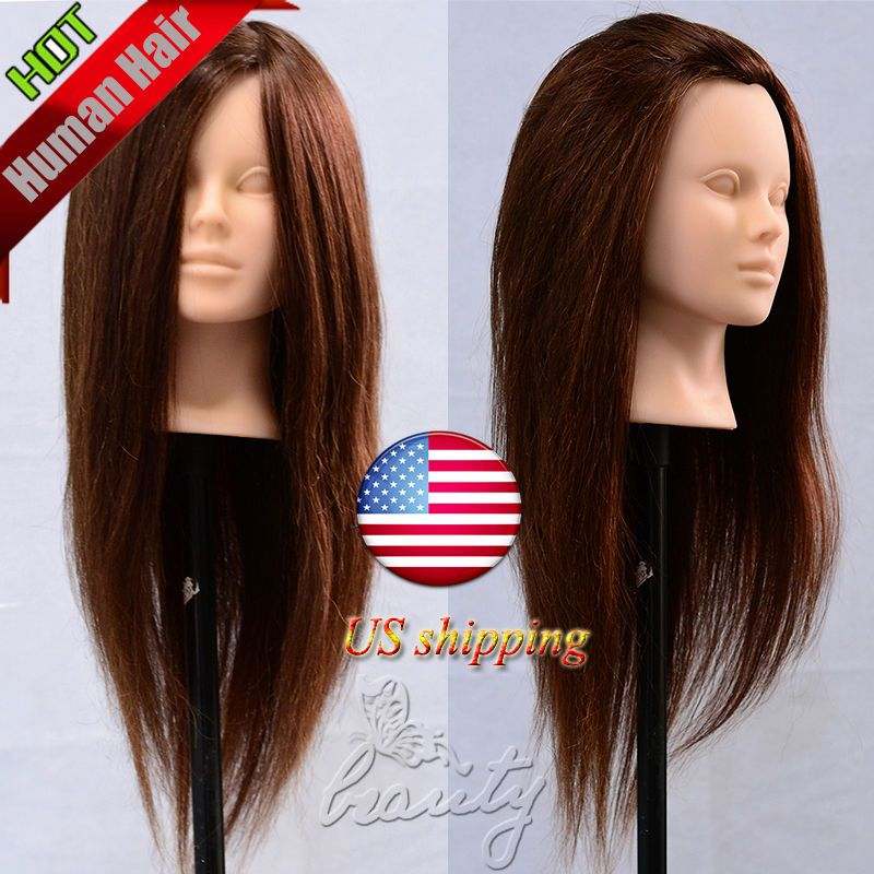 New Style Makeup Practice Head Hairdressing Training
