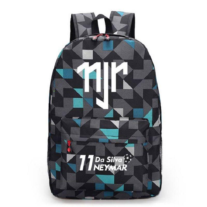 Neymar JR Canvas Backpack Men Women Backpacks Travel Bag Boy Girl School Bag  For Teenagers Foot Ball RuckSack Mochila Escolar aa0c1513bf