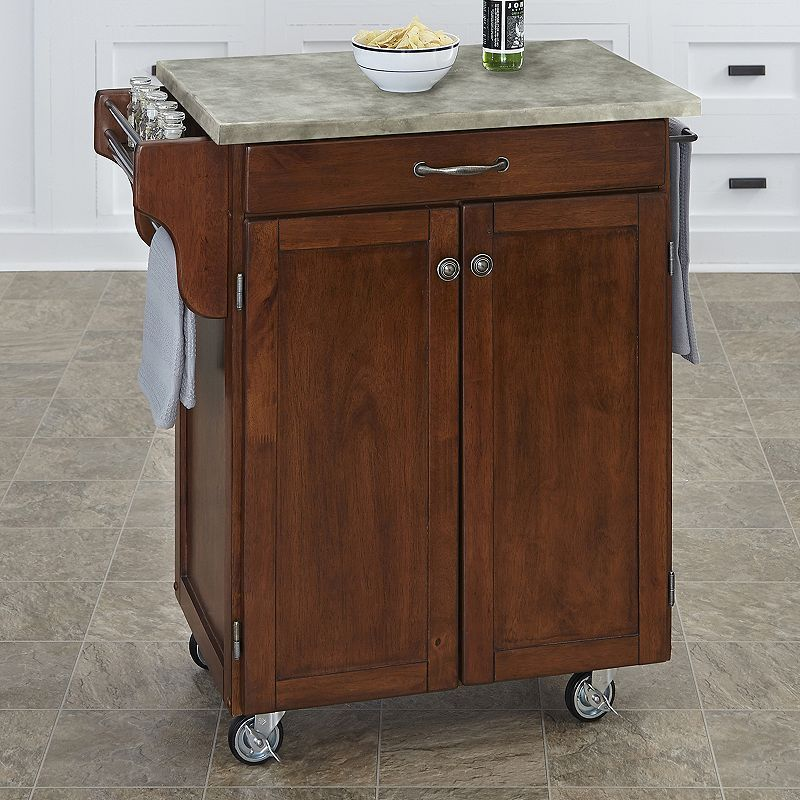 Best Home Styles 2 Door Create A Cart Kitchen Cart Brown Oth 640 x 480