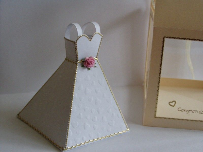 dress template   Wedding Dress Template Complete with Display Box ...