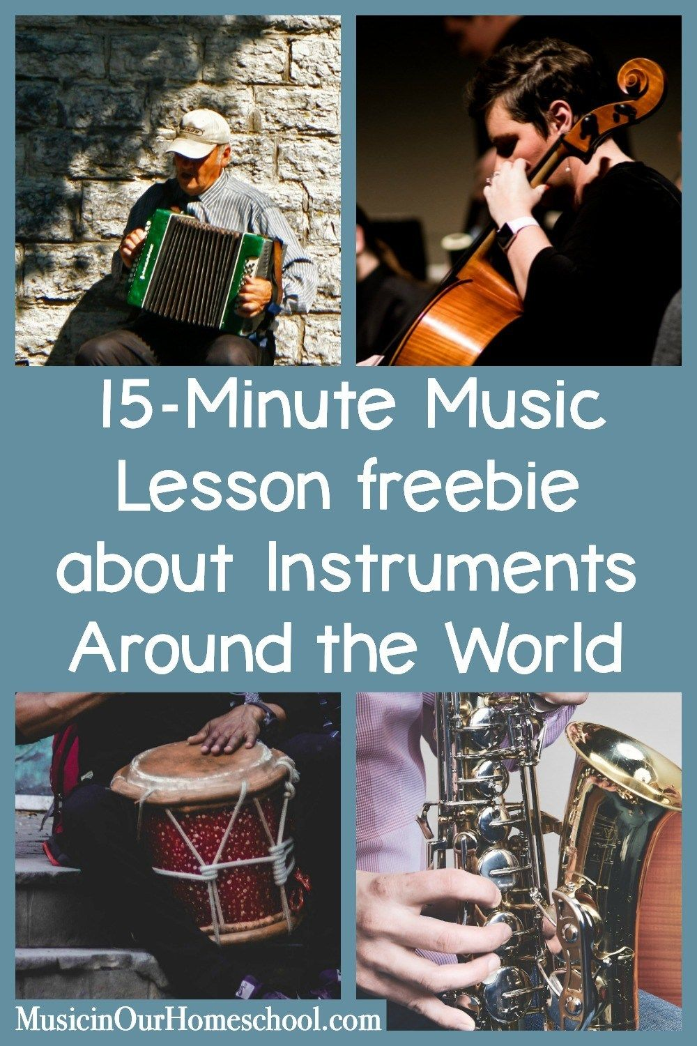 15-Minute Music Lesson About Instruments Around the World   Art