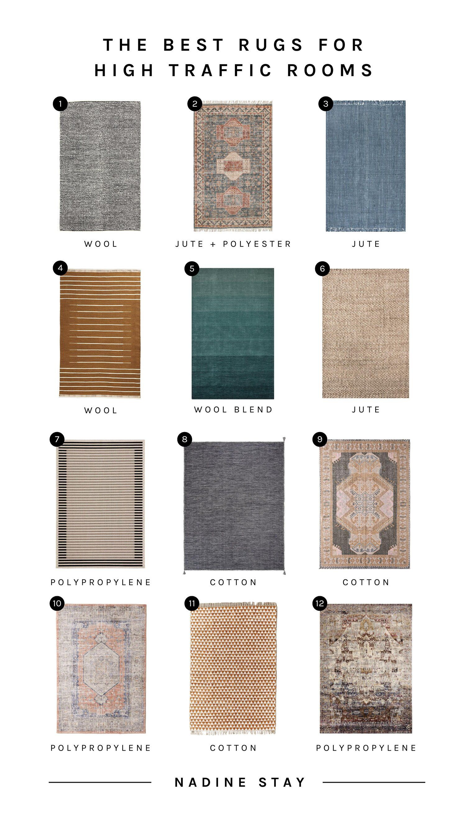 The Best Worst Rugs For High Traffic Areas In 2020 Rugs