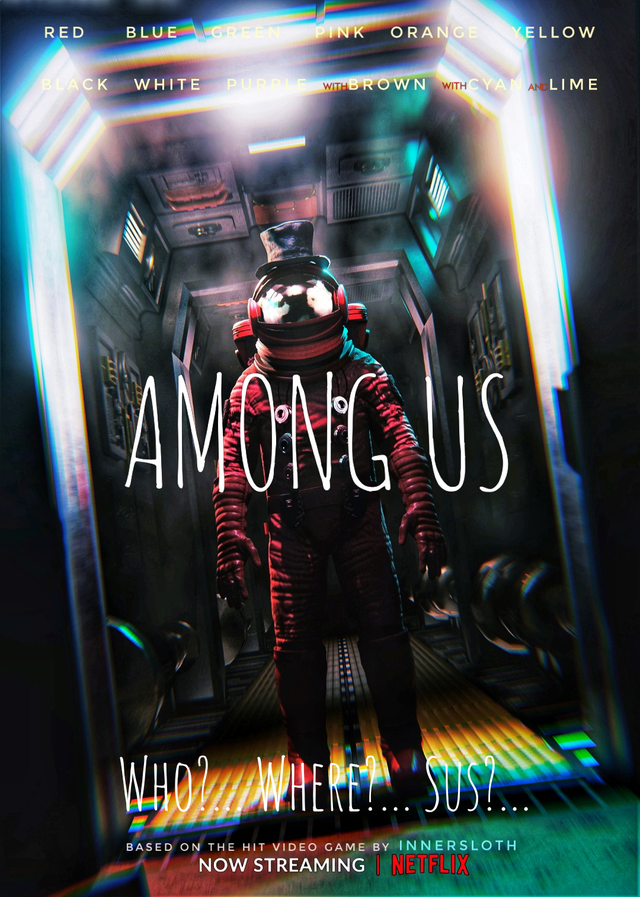 3 I Made Among Us Movie Poster Amongus This Is Us Movie Funny Phone Wallpaper Cool Wallpapers For Your Phone