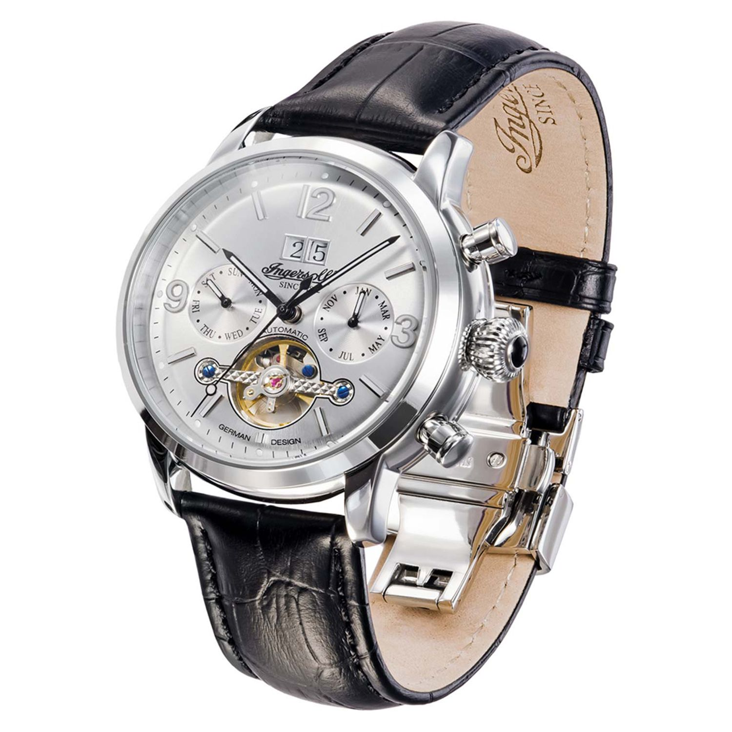 Ingersoll Mens Belle Star Fine Automatic Timepiece