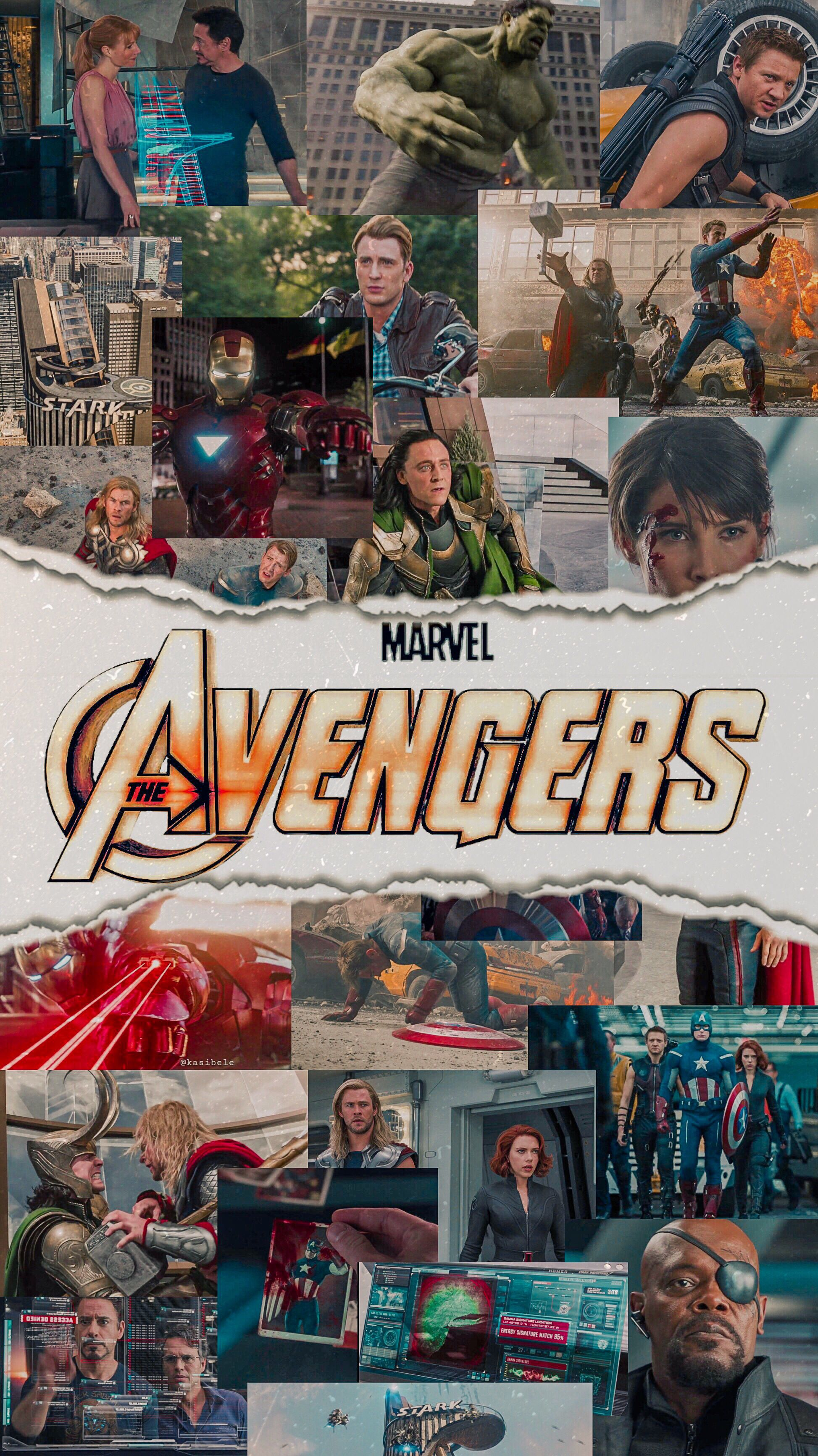 The Avengers   by @kasibele